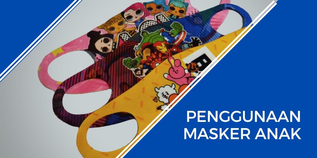 penggunaan masker anak
