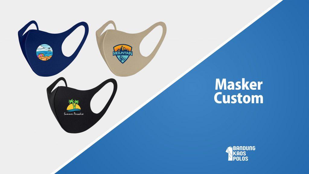 Masker Scuba Custom Beserta Cara Pemesanannya