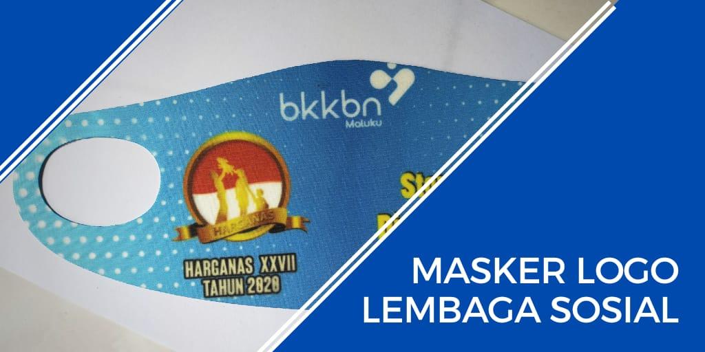 masker logo lembaga sosial