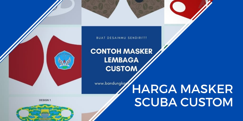 harga masker scuba custom