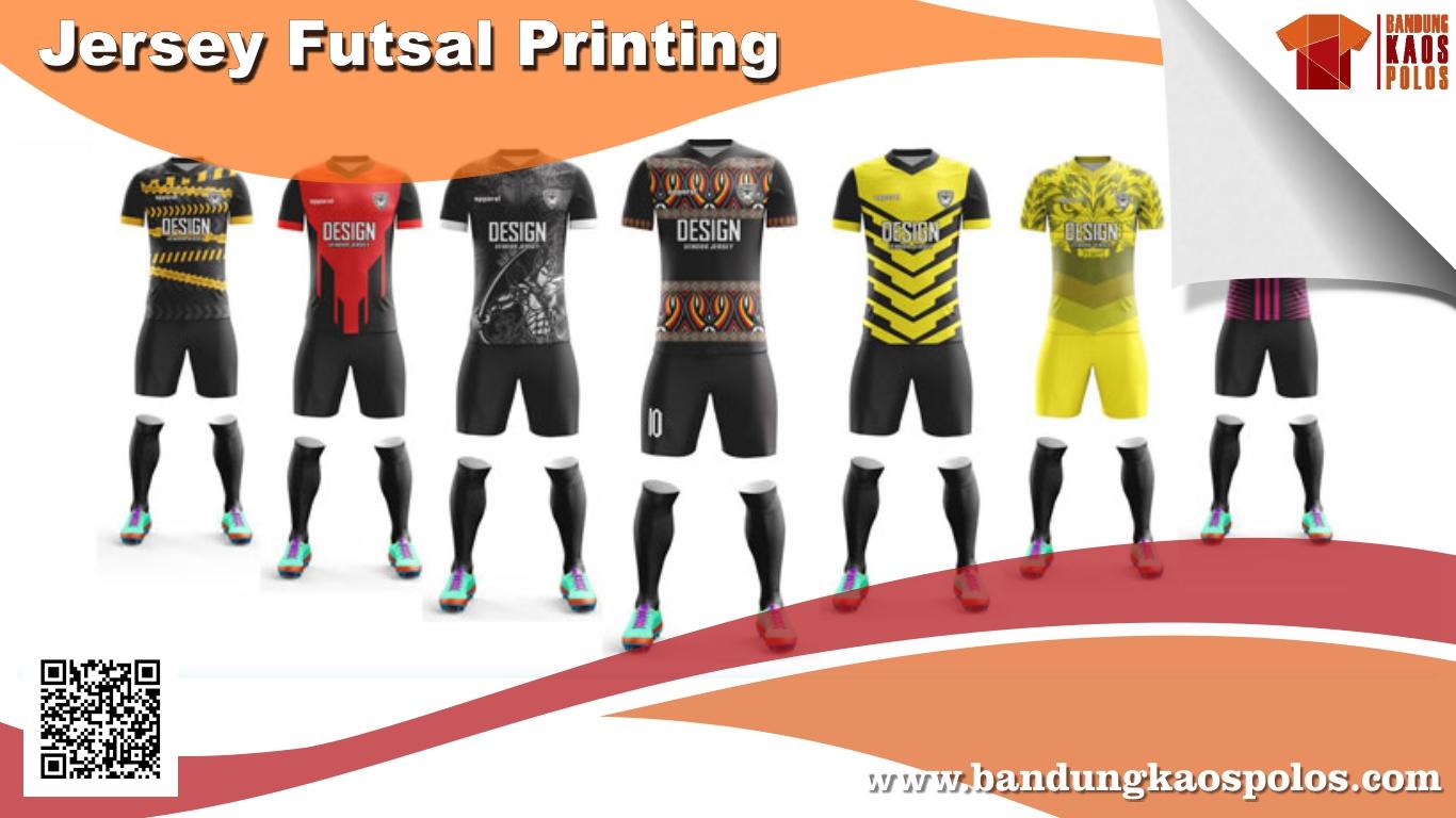 Kaos Jersey Printing untuk Olahraga Futsal