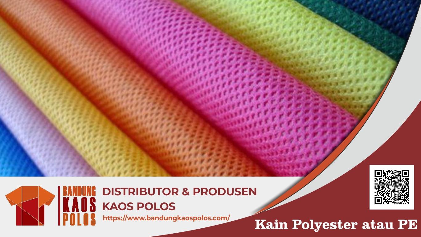 Kelebihan dan Kekurangan Material Bahan Kain Polyester untuk Kaos
